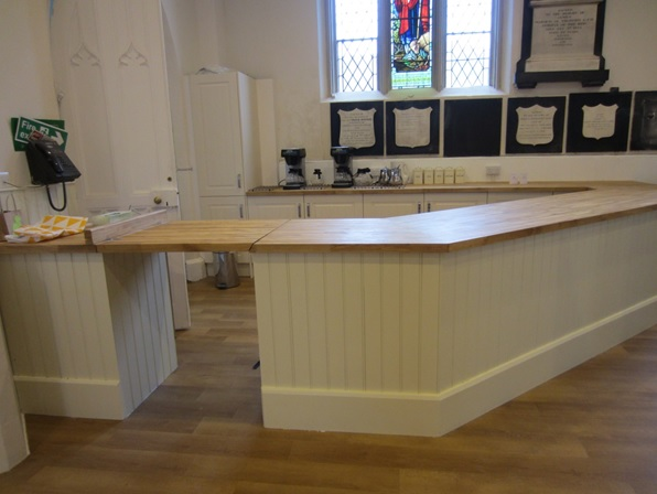 New Kitchen Servery within the Fellowship Centre